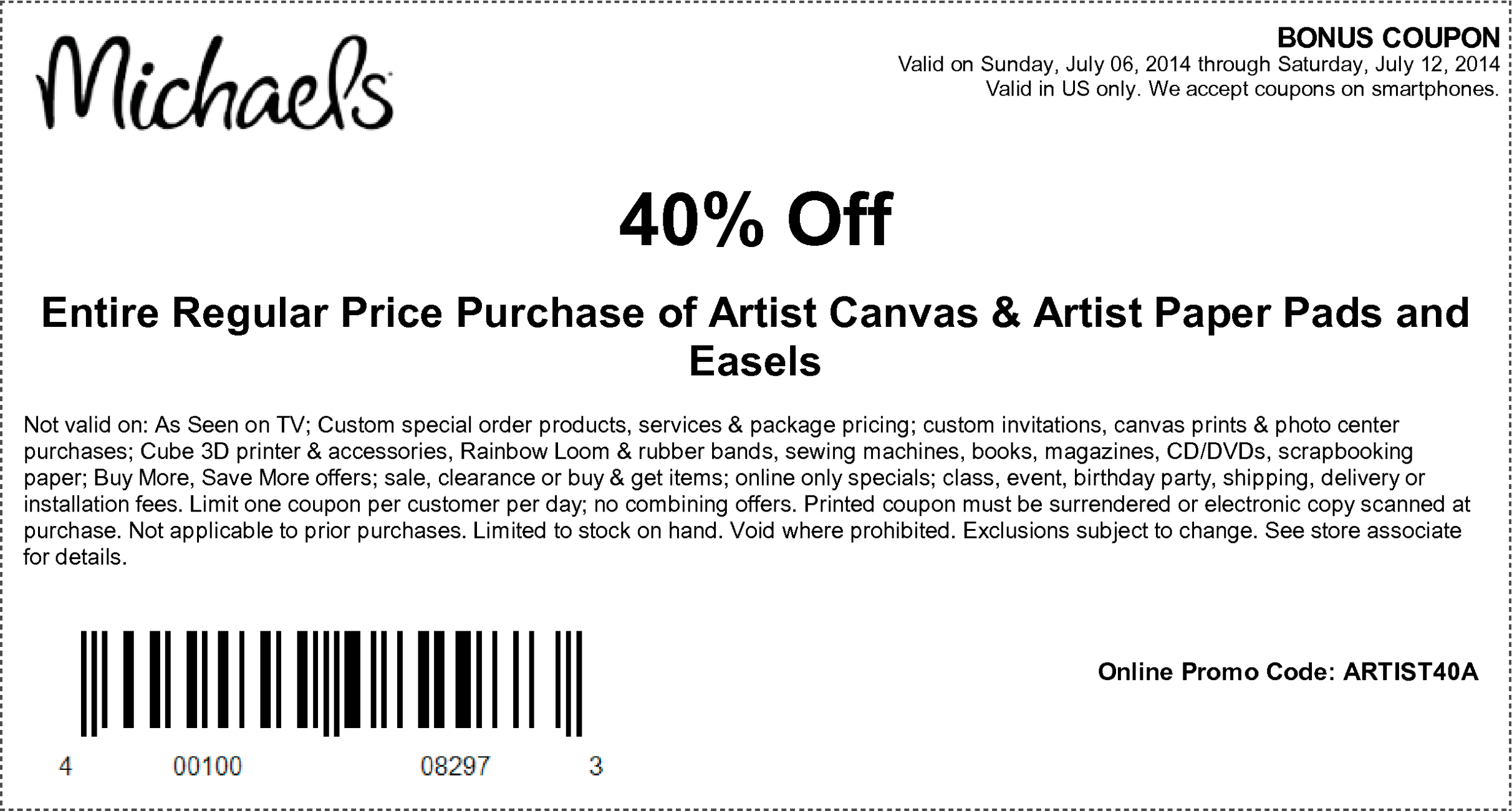 coupons bb crafts